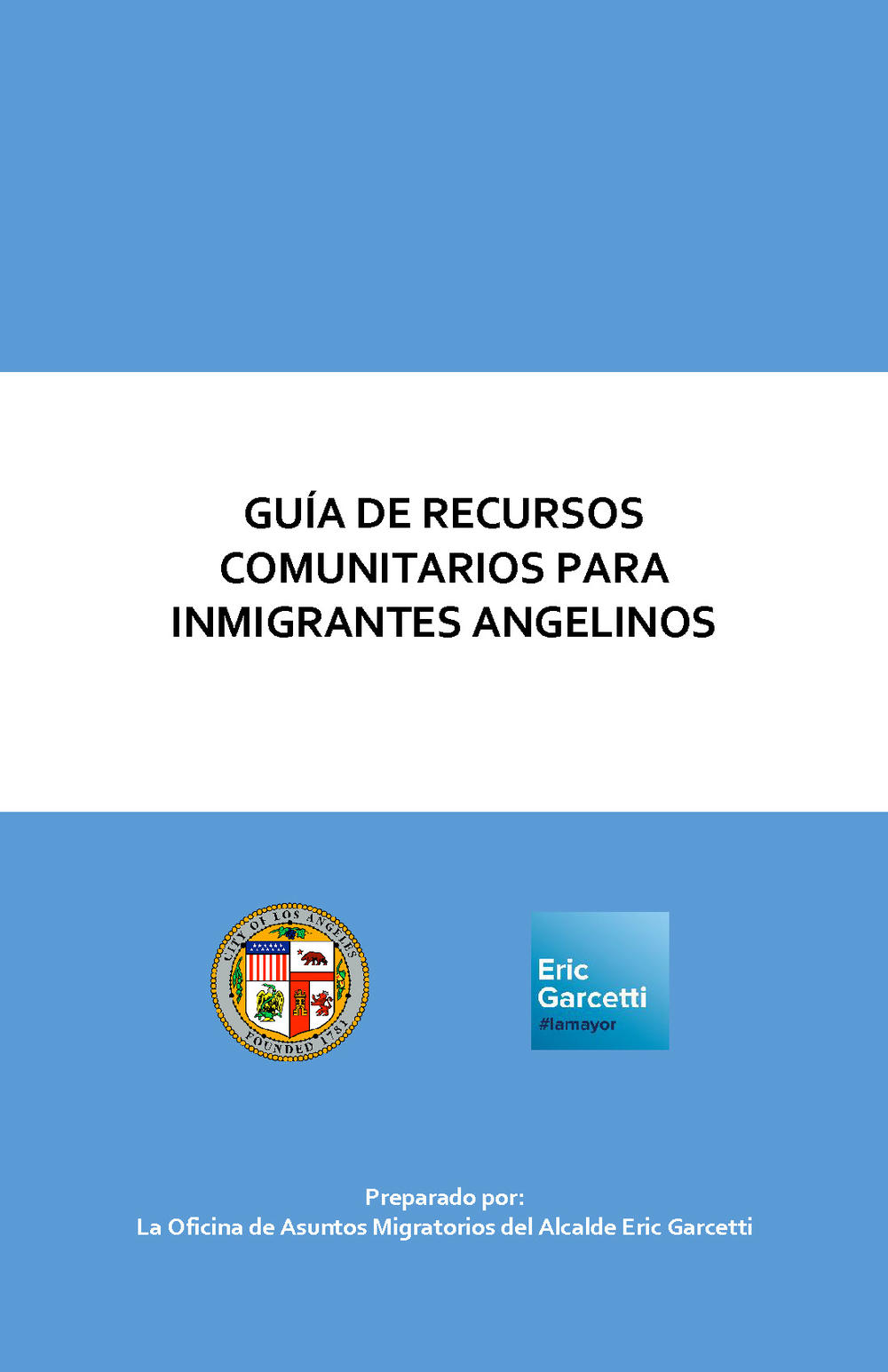 Link to Spanish Immigrant Resources Guide