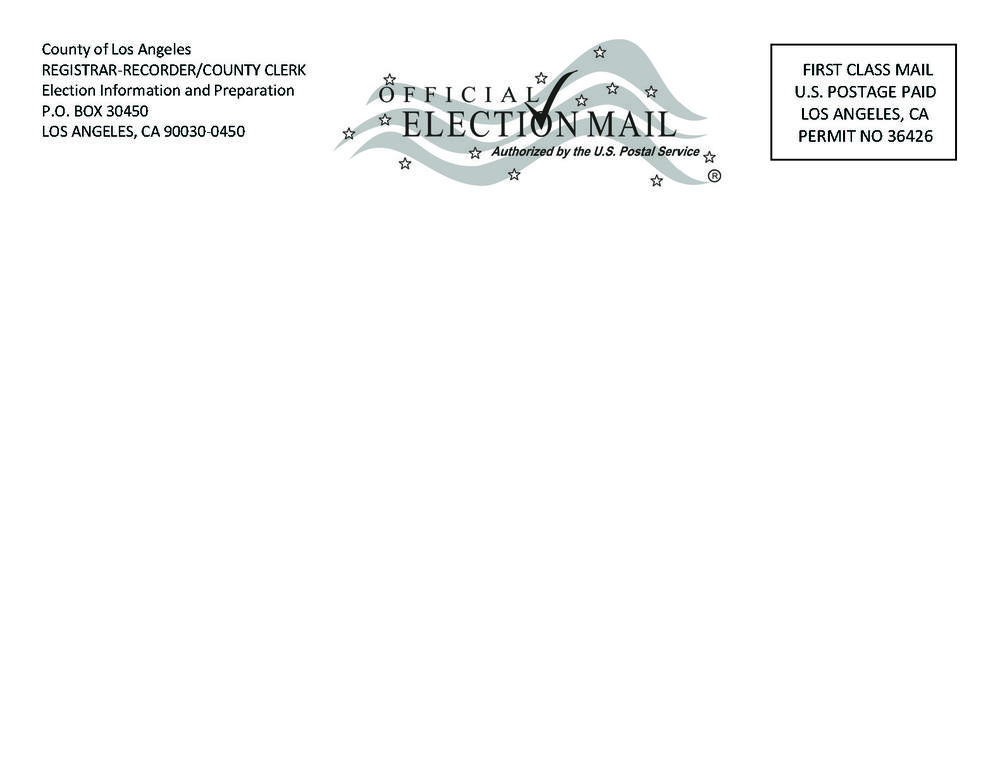 election update postcard