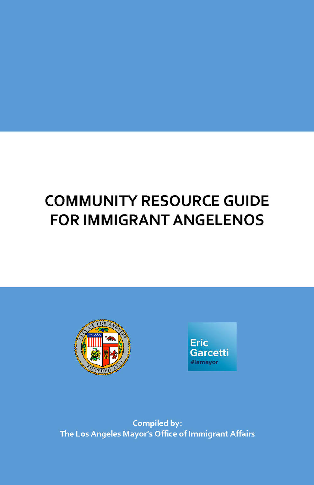 Link to Resource Guide for Immigrants