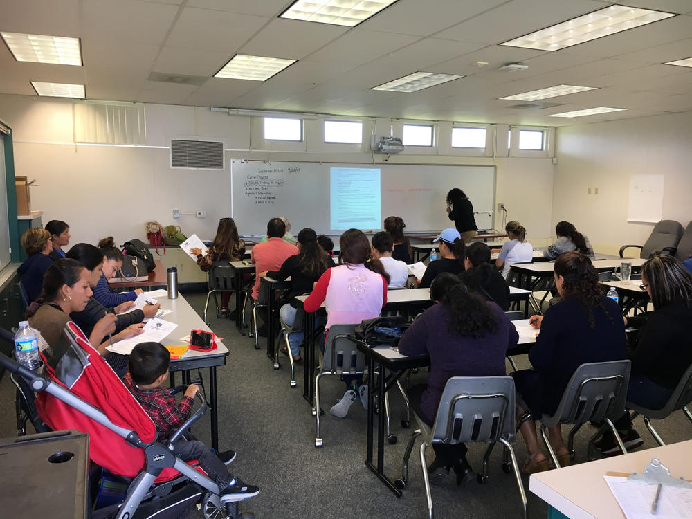 ESL Classes in action