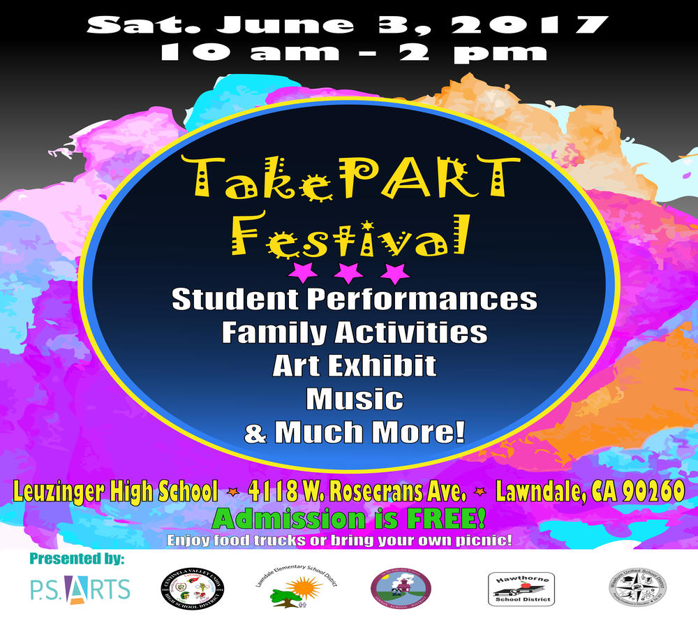 Take Part Festival Flyer